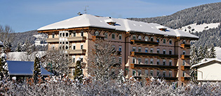 Apparthotel Germania im Winter