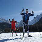 Cross-country skiing in Alta Pusteria